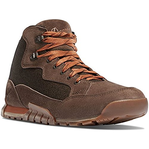 Danner Skyridge Dark Earth 4.5'' Sole Lifestyle Shoes | Waterproof Hiking Outsole Retro Waffle (7.5 D)
