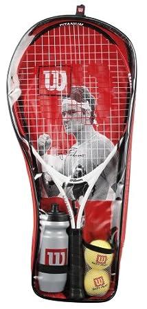 Wilson Roger Federer Starter Set: Amazon.es: Deportes y aire libre
