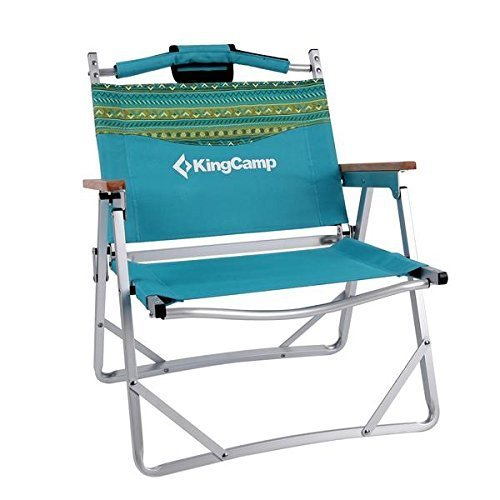 KingCamp Beach Camping Chair Folding Aluminum Frame Coole...