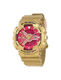 CASIO G-Shock S Series Rose Gold Pink Dial Women's Watch GMAS110GD-4A1
