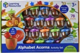 koala in can - Learning Resources Alphabet Acorns Activity Set, 78 Pieces