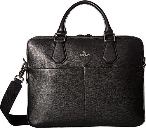 Price comparison product image Vivienne Westwood Men's Milano Computer Bag Black Briefcase