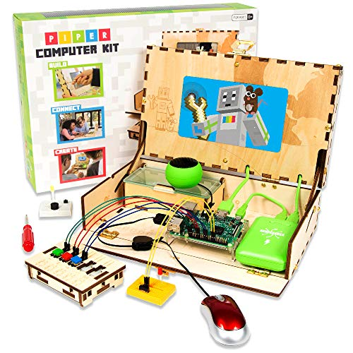 Piper Computer Kit - Minecraft: Raspberry Pi edition - Teach Your Kids to Code - Educational STEM Toys - Tech Toy of the Year Finalist 2018
