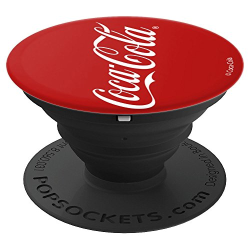 Coca-Cola 2007 Logo Red And White - PopSockets Grip and Stand for Phones and Tablets