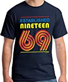 50th Birthday Gifts Men Established 1969 T-Shirt