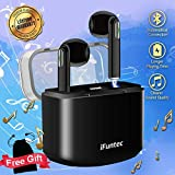 Best Earbuds With Mic Bluetooths - Wireless Headphones, Bluetooth Earphones with Mic Compact in-Ear Review