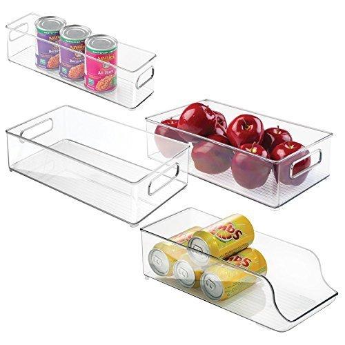 Interdesign 4 Piece Fridge Freezer Storage