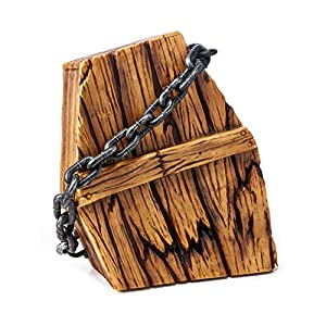 Chained Shaking Coffin Animated Halloween Props