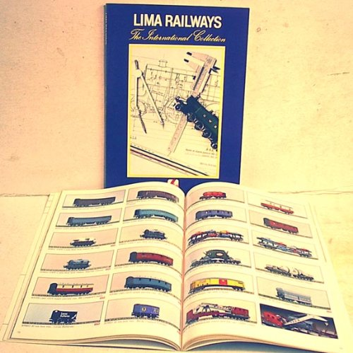 1980 Trains - LIMA 1980 Train Catalog N & HO Scale color book
