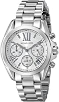Michael Kors Watches Mini Bradshaw Chronograph Stainless Steel Watch