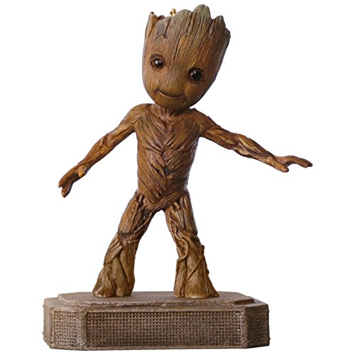 Collectible Christmas Ornament Collection (Hallmark 1795QXI3465 Marvel Guardians of the Galaxy Groot Keepsake Christmas Ornaments)