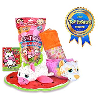 Basic Fun Cutetitos Fruititos - Surprise Stuffed Animals - Collectible Scented Plush - Series 4 - Great Gift for Girls & Boys