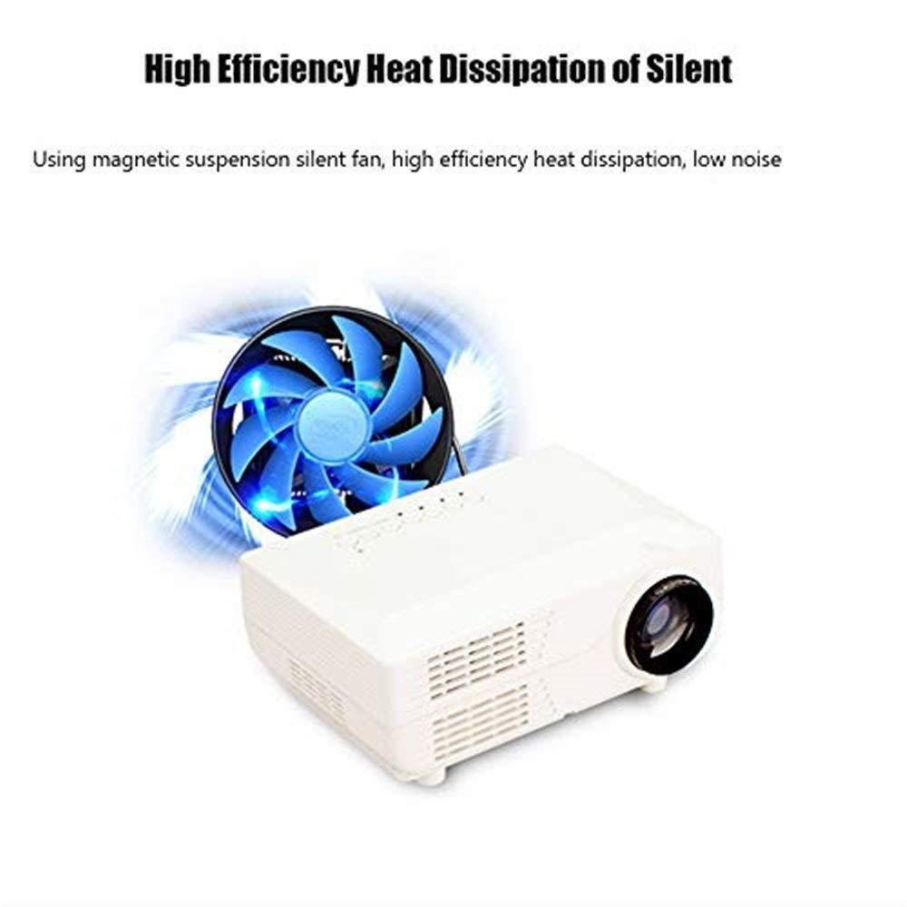 Proyector Inicio Mini proyector LED de Entretenimiento ...
