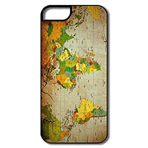 PTCY IPhone 5/5s Customize Fashion Political Map
