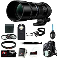 Olympus M.Zuiko Digital ED 300mm f/4.0 PRO Lens with Focus Accessory Bundle