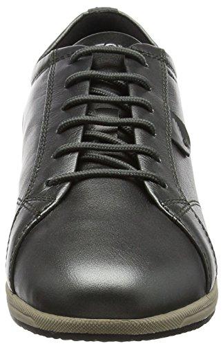 Geox D Avery B, Zapatillas para Mujer Gris (Dk Grey)