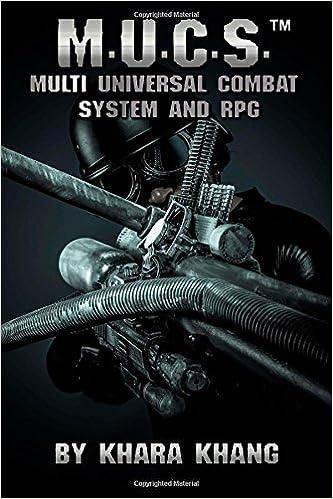 Book M.U.C.S.: Multi Universal Combat System and RPG