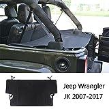 #10: Joytutus Jeep Wrangler Cargo Trunk Cover Shade Boot Storage Protector for JK Sports Sahara Freedom Rubicon 2007-2017