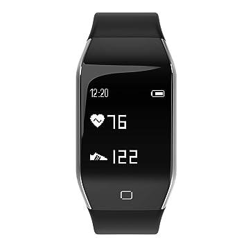 Cebbay Pulsera de Actividad Reloj Iinteligente Hombre Mujer niños Impermeable Sports Fitness Tracker Smart Wrist para iPhone Android Samsung Huawei: ...