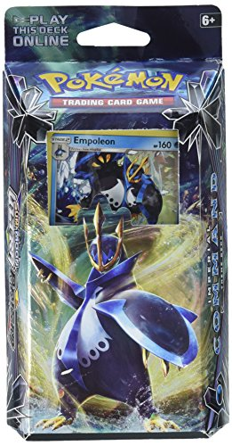 Pokemon Tcg: Sun & Moon Ultra Prism-Empoleon Imperial Command Full Ready to Play 60 Cards, Includes 2 Player Playmat and Rulesheet Plus Damage Counters, Deck Box and Much More