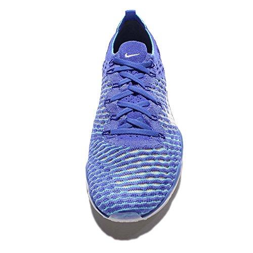 Flyknit Blå Medium Zoom Nike Kvinners 6 Air Uredd Wmns Oss Hvit w0wUBTX