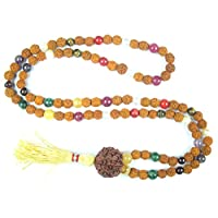 Meditation Yoga Mala Navgraha Prayer Rudraksah Healing Jewelry-Remove Obstacles