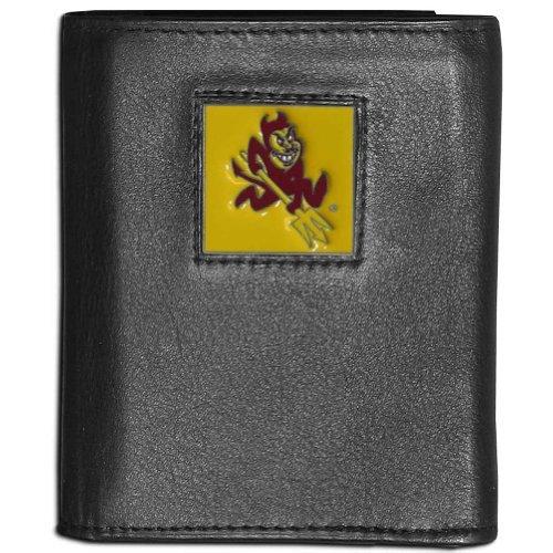 Siskiyou NCAA Arizona State Sun Devils Deluxe Leather Tri-fold Wallet