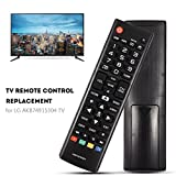 Fosa Black Remote Control Replacement for LG AKB74915304 TV