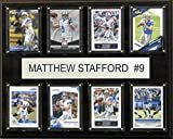 NFL Detroit Lions Matthew Stafford 8-Card Plaque, 12 x 15-Inch