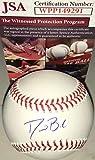 David Bote Chicago Cubs Autographed Signed Official Major League Baseball JSA WITNESS COA