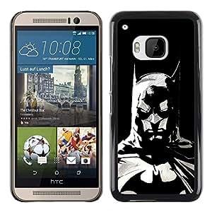 Design for Girls Plastic Cover Case FOR HTC One M9 The Bat Superhero OBBA