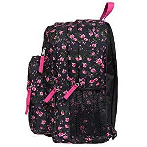 JanSport Big Student Classics Series Backpack - LIPSTICK PINK TEA ROSE DITZY