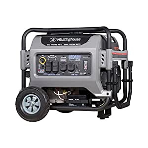 Westinghouse 8KPRO Gas Powered Portable Generator with Remote Electric Start - 8000 Running Watts and 10000 Starting Watts -  Gas Powered - CARB Compliant