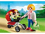 PLAYMOBIL® Mother with Twin Stroller
