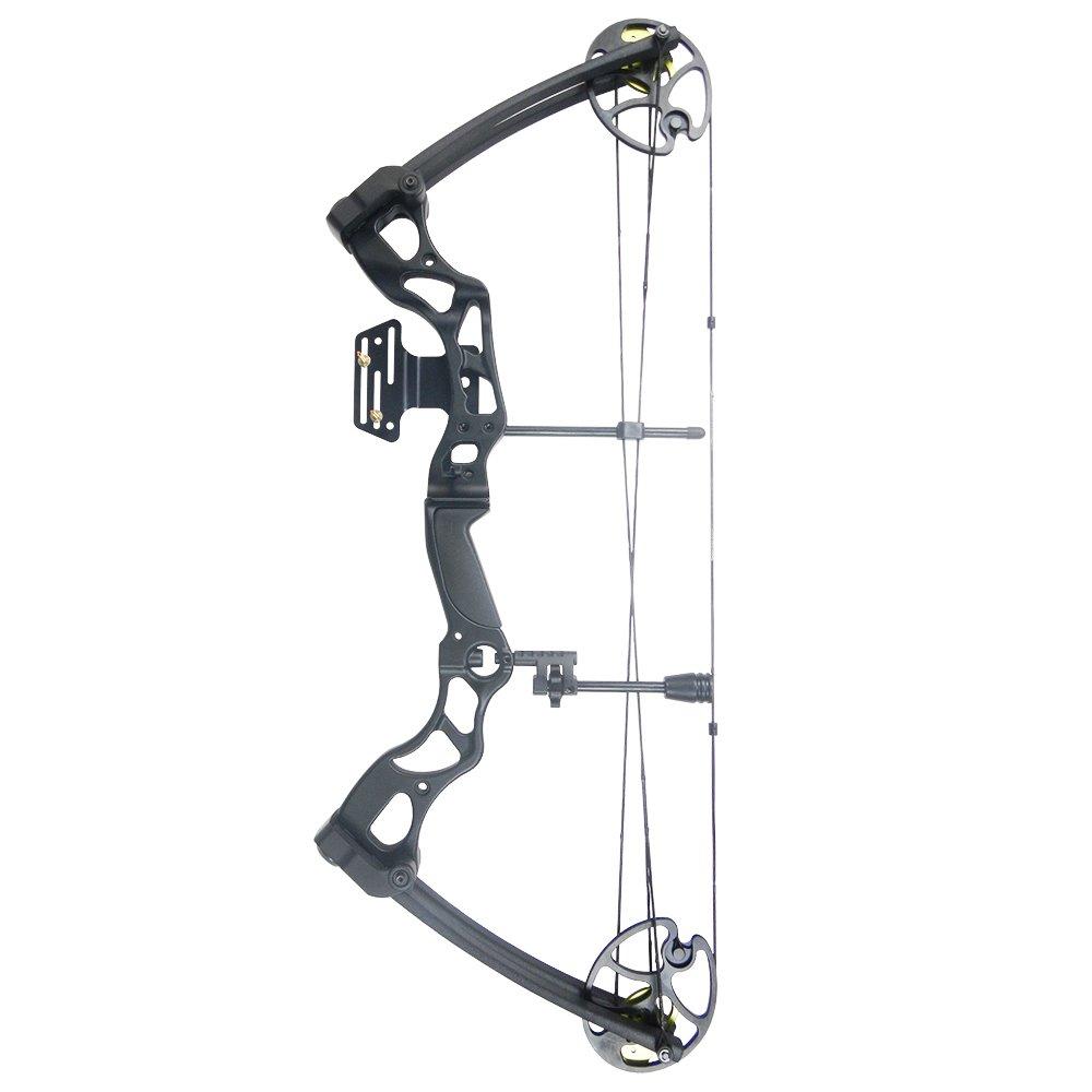 iGlow 40-70 lbs Black Archery Hunting Compound Bow 175 150 60 55 30 lb Crossbow