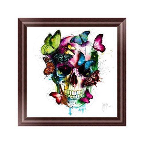 Buybuying Skull Butterfly DIY 5D Diamond Embroidery Handmade Painting Rhinestone Cross Stitch Decor Gift (Skull Embroidery Design)