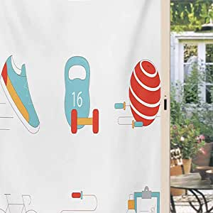 ScottDecor Fitness Removable Window Cling Slimming Losing ...