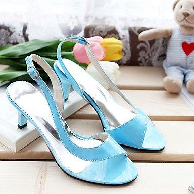 Sandalias 5 Rosa EU32 CN31 RTRY Toe De Peep Tacones Zapatos Talón Amarillo Azul UK1 Exteriores Tacón Mujer Vestido Casualblack De US2 Verde fUf0wq