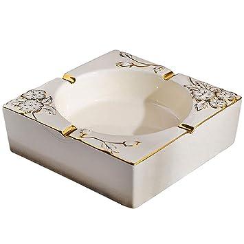 Carl Artbay Cenicero Vintage Cerámico Soot Box para Sala de Estar Hotel.: Amazon.es: Hogar