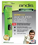 Andis ProClip AGC2 UltraEdge Universal Supper 2-Speed Professional Pet, Dog & Animal Detachable Blade Clipper 3,400/4,400 Strokes Per Minute UltraEdge Size 10 Blade & Maintenance Card Included