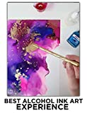 NARA Alcohol Ink Paper for Painting, 100% Stain