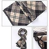 Men's Fashion Vinatage Large Oblong Scarf Wraps Collection 180Cm34Cm