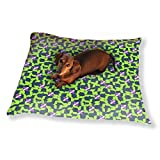 Spring In The Sudoku Patch Dog Pillow Luxury Dog Cat Pet Bed