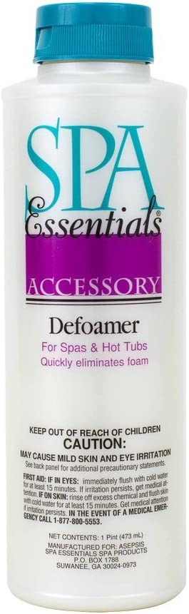 Spa Essentials 32424000 Defoamer for Spas and Hot Tubs, 1-Pint: Garden & Outdoor