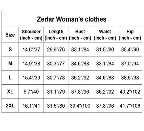 Zerlar Mujer Para Gris Profunda Camisas HqUHwzp