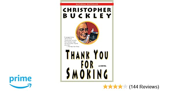 thank you for smoking book summary