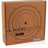 13TW5V2-2 - JL Audio 13.5 2-Ohm 600W Shallow Mount Car Subwoofer
