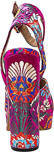 PE18 Jodi Steve Fuxia Multi Pink Scarpe Madden TACCO12 Donna 00qtBOp