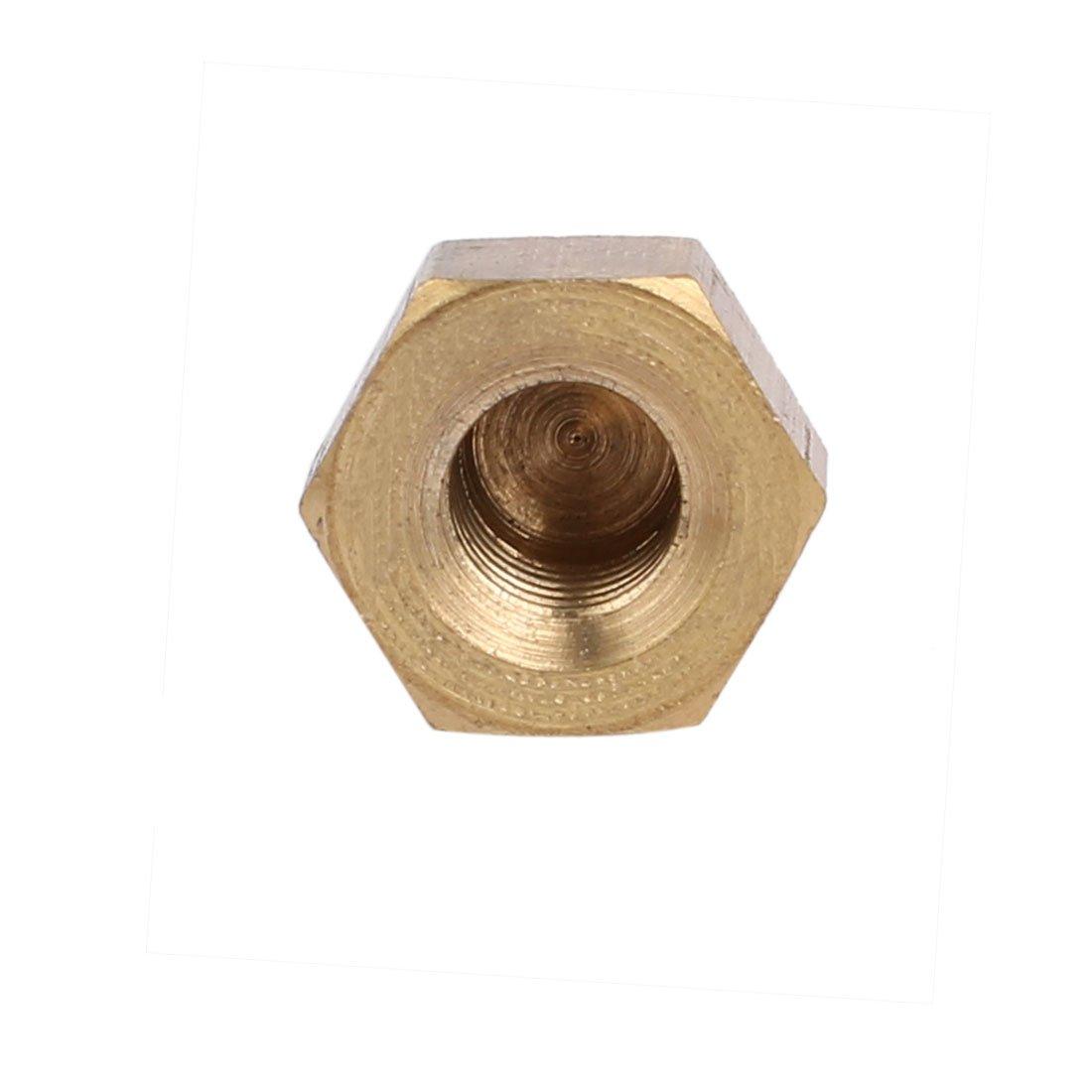 sourcingmap/® 5 St/ück M6 Innengewinde Nuss DIN1587 Dome Cap Kopf Hexe Messing DE de