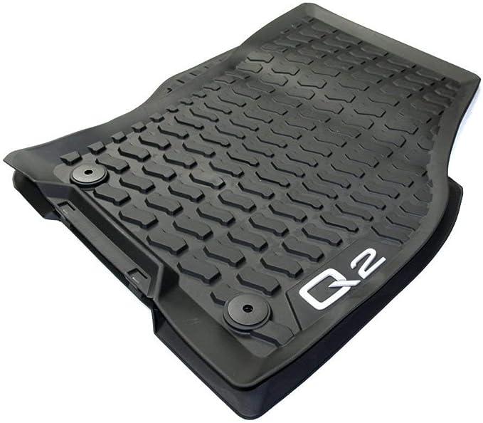 Für Audi Q2 Gummi Fußmatten Hohe 3D Gummimatten Automatten 4 tlg ab 2016